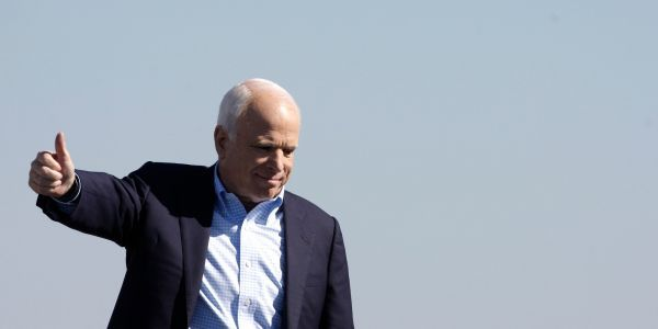 John McCain described how he received the Steele dossier that contains the most salacious allegations about Trump and Russia