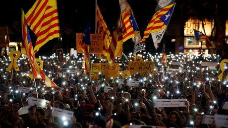 Jailed Catalan leaders go on hunger strike in protest of Madrid hampering European court appeal