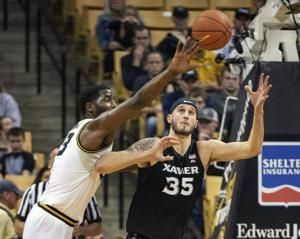 Tilmon's big night helps Missouri beat Xavier 71-56