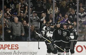 Brodzinski scores first NHL goal as Kings blank Panthers