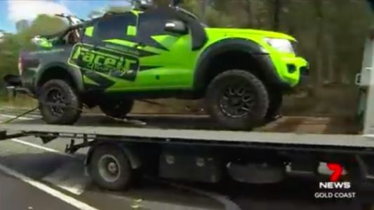 Australian Cops are Seizing Illegally Lifted Pickup Trucks as Part of a Lame Crime Initiative