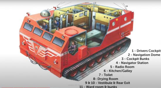 Soviet Versions Of The Antarctic Snow Cruiser Were So Much Better Than America's