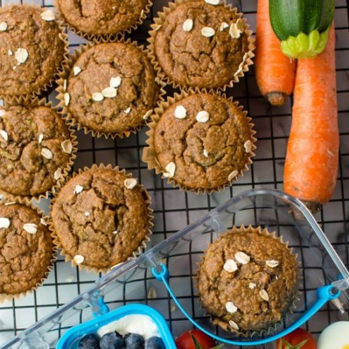 Healthy Lunch Box Muffins