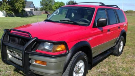 At $4,995, Would You Give This 1998 Mitsubishi Montero Sport A Sporting Chance?