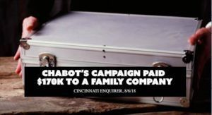 WATCH: NEW DCCC AD IN OH-01 HIGHLIGHTS CAREER POLITICIAN STEVE CHABOT'S RECORD OF PERKS & SELF DEALING