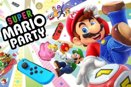'Super Mario Party' for Nintendo Switch Releasing Limited Joy-Con Bundle