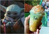 There's a Not-So-Secret Baby Yoda Frappuccino at Starbucks, Because of Course There Is