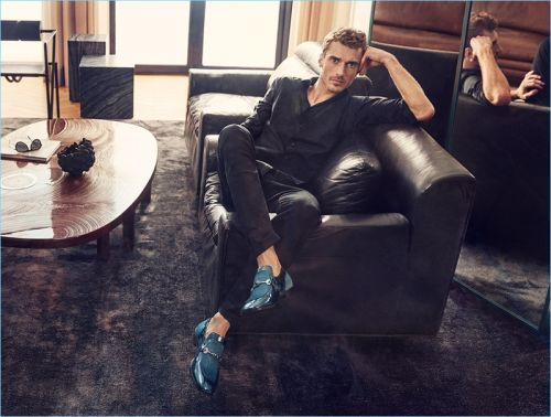Clément Chabernaud Embraces Mod-Inspired Style for Jimmy Choo Spring '18 Campaign