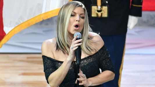 Fergie faces the music for All-Star anthem, part of her history with tune
