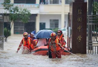 China's southern Jiangxi declares highest flood alert