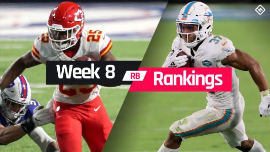 Fantasy Football Rankings Week 8: Running back