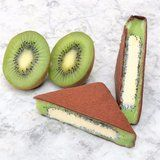 One Bite of This Insane Kiwi Sorbet Bar Will Leave You All Fuzzy Inside