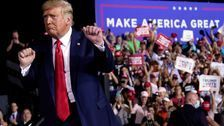 Trump, Biden Try Rallying Their Supporters In Key Must-Win States