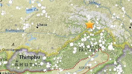Magnitude 6.3 earthquake hits Tibet region