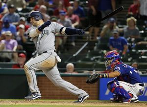 Cruz and Seager lead Mariners past Rangers 10-4