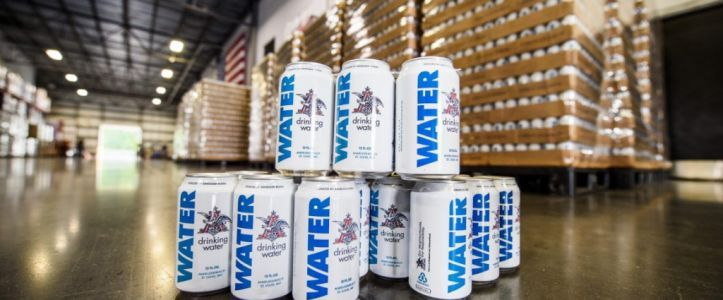 Anheuser-Busch Pauses Beer Brewing to Ship Cans of Water to Hurricane Florence Victims