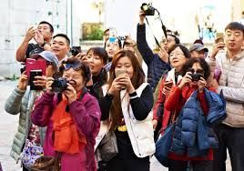 More and more Chinese tourists are venturing abroad