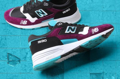 New Balance 1530's Purple and Teal Edition Is a Timeless Standout