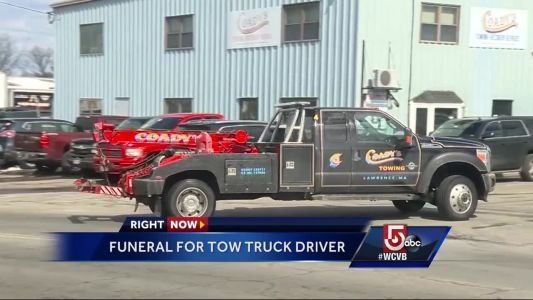 Funeral to be held for tow truck driver