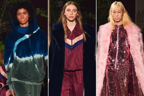 Juicy Couture's first Fashion Week show was tracksuit mania