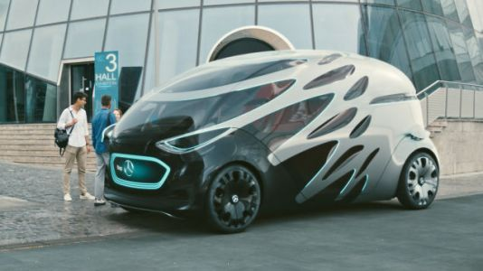 The Mercedes-Benz VisionUrbanetic Is a One-Size-Fits-All-Use Autonomous Box of the Future