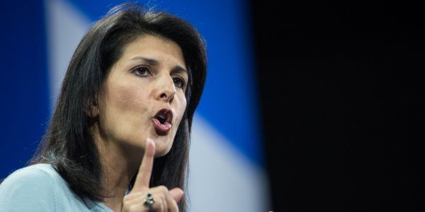 Trump is reportedly furious at UN ambassador Nikki Haley for saying his accusers 'should be heard'