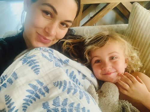 Brie Bella Shares a 1st Glimpse of Newborn Son in Sweet New Photo With Daughter Birdie