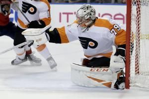 Van Riemsdyk has 3-point game, Flyers beat Panthers 6-2
