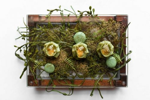 This $150 Eight-Course Tasting Menu Pairs Food With Art