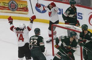 Moore gives Devils 4-3 overtime win against Wild