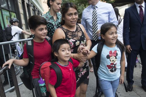 Federal judge pauses deportations of reunited families