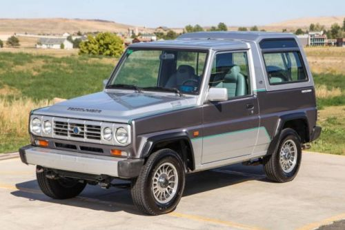 At $20,800, Could This 1990 Bertone Freeclimber Put You on Top?