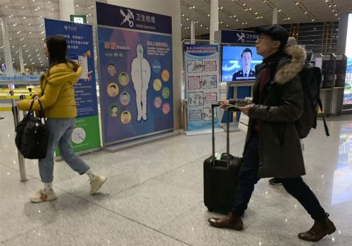 Trio of airports to screen China travelers for virus