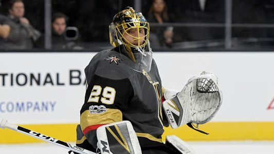 Stanley Cup Final: Marc-Andre Fleury aids Tom Wilson in go-ahead goal