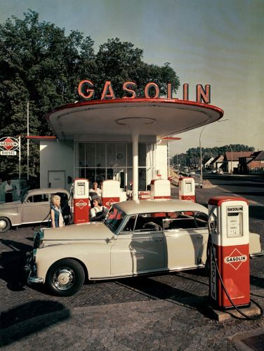 Why the Petrol Station Has Become a Site of Unexpected Beauty