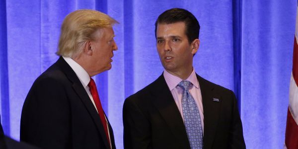 Donald Trump, Jr.'s decade-old comments about his family's 'money pouring in from Russia' resurface, giving liberals fresh ammunition