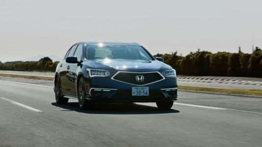 The Honda Legend Honors Its Nameplate And Becomes First Certified Level 3 Automated Car
