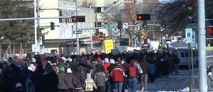 Hundreds in Lincoln March for Life prior to Roe v. Wade anniversary