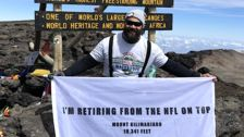 NFL Star Haloti Ngata Announces Retirement Atop Mt. Kilimanjaro