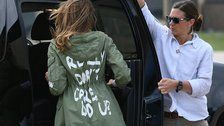 Melania Trump Reveals Why She Wore 'I Really Don't Care' Jacket