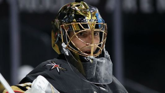 Stanley Cup Final 2018: Golden Knights' Fleury shows off puck-handling, shot ahead of Game 2