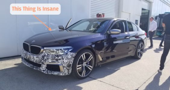 I Rode in BMW's Absurd 710 HP Electric 5 Series Development Car; Here's How It Works