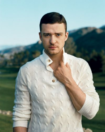 The man who brought sexy back. Justin Timberlake photographed by