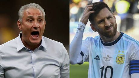 'He needs to have more respect': Brazil boss Tite slams Messi's claims that Copa America was rigged