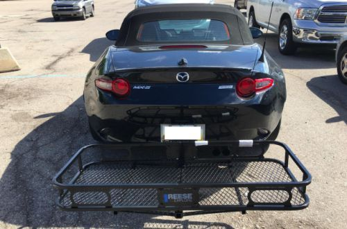 Installing a Trailer Hitch on a Mazda Miata is Incredibly Easy and Fixes the Car's Biggest Flaw