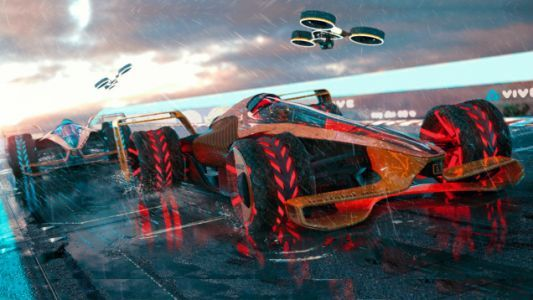 McLaren's Concept of F1 in 2050 Is Like a Futuristic Video Game You Never Expected Become Reality
