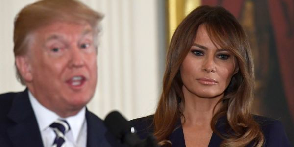 What would happen if the Donald and Melania Trump got a divorce?