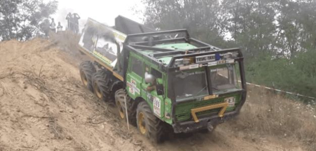 Europe's 8x8 Truck Trials Never Cease to Be Mesmerizing