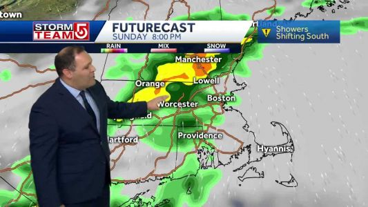Video: Expect more wet weather on Father's Day