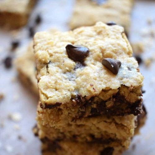 Chocolate Chip Oat Squares